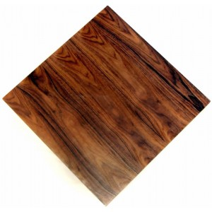 900mm, Timber Veneer Table Top, Rebate Edge, Square, Walnut